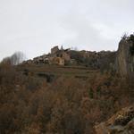 Vistes del poble des de la Roca del Moro - El poble Turisme Rural casa l'hereu