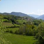 Vista oest del poble de Montcortès - El poble Turisme Rural casa l'hereu