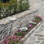 Detall del jardí que hi ha costat de l'entrada principal. - El jardí de l'Estisora Turisme Rural casa l'hereu