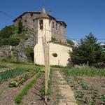 L'hort de Casa l'Hereu en front de l'esglèsia - El poble Turisme Rural casa l'hereu