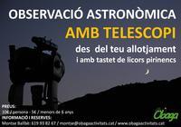 Turisme Rural casa l'hereu  :: Taller d'astronomia a l'estany de Montcortès -