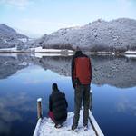 Mirant rastres de fauna. - L'estany Turisme Rural casa l'hereu