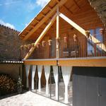 Terrassa de la casa rural - Benvinguts al Pallars Sobirà Turisme Rural casa l'hereu