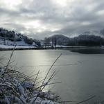 - L'estany a l'hivern Turisme Rural casa l'hereu