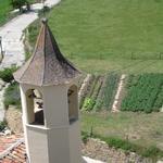 L'esglèsia de Montcortès i l'hort de Casa l'hereu. - Benvinguts al Pallars Sobirà Turisme Rural casa l'hereu