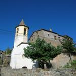 L'esglèsia amb la Badia al darrera - Entorn Turisme Rural casa l'hereu