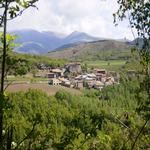 Vista sud del poble de Montcortès. - Entorn Turisme Rural casa l'hereu