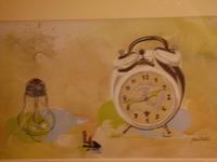 Turisme Rural casa l'hereu  :: Racó de pintura Rosa Vilalta  - Com passa el temps
