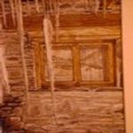 Paisatge en finestra - Racó de pintura Rosa Vilalta  Turisme Rural casa l'hereu