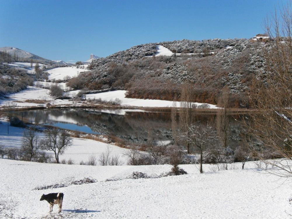 Estany de Montcortès hivern 2013